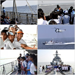 27 SCHOOLS PARTICIPATE IN DAY AT SEA FOR SCHOOL CHILDREN