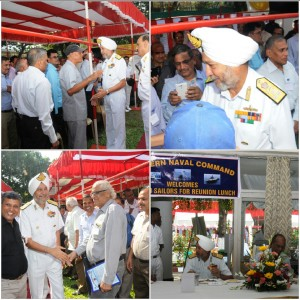 VICE ADMIRAL SPS CHEEMA INTERACTS WITH VETERAN SAILORS