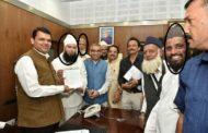 गुर्गा-ए-बंगाली शब्बीर अंसारी ने कांग्रेसियों के सामने कांग्रेस पार्टी को कोसा