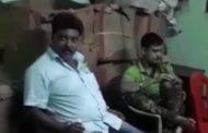 एक और शराबी पुलिस वाले की करतूत , वीडियो में कैद