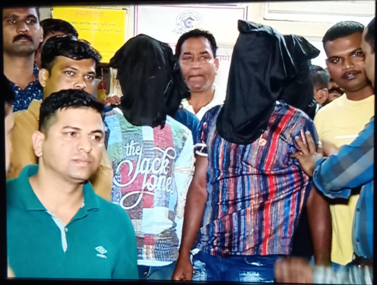 ड्रग माफियाओं और मुंबई पुलिस की मुडभेड़ , पुलिस पर हुआ फाएर, 7 ड्रग्स माफिया पुलिस की चंगुल में , भारी मात्रा में मादक पदार्थ जब्त