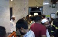 मुंबई के सांकली स्ट्रीट में लिफ्ट गिरी